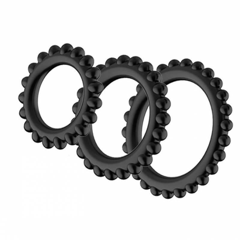 эрекционные кольца разного размера фото