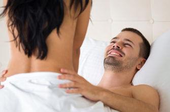 мужчина испытывает оргазм фото